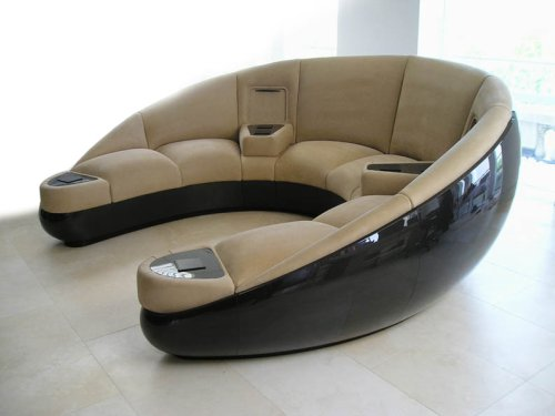 Cnc Routing Carbon Fibre Sofa