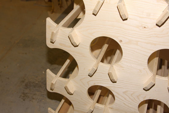 Cnc Routing Interlocking Panels And Frames