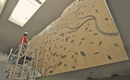 Cnc Routing Nandos Chilli Tree