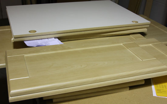 cnc routing vinyl wrapped panels